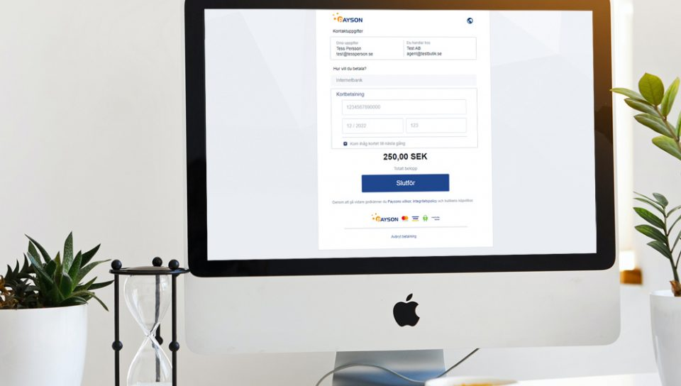 Payson Form for WooCommerce
